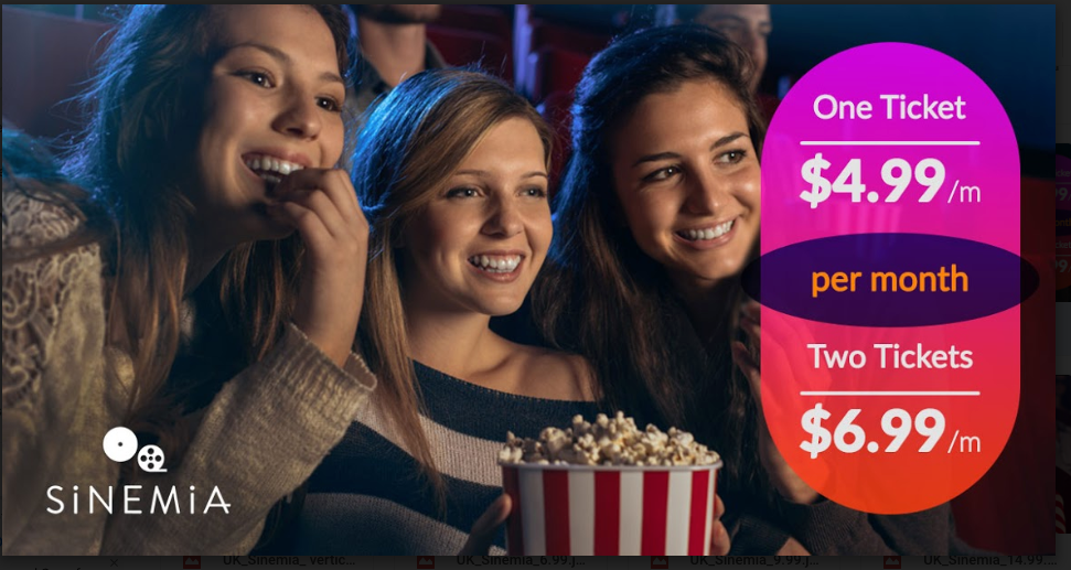 Drop Movie Pass and Get Sinemia. Best deal for movie tickets of 2018.