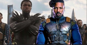 Chadwick Boseman & Michael B Jordan Fought At Golden Globes!! Damn!