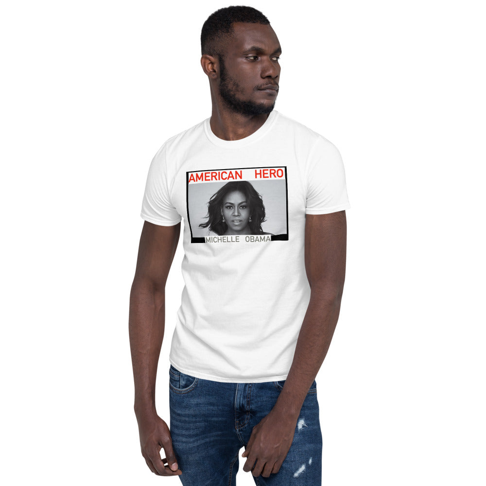 American Hero Collection - Michelle Obama T-Shirt
