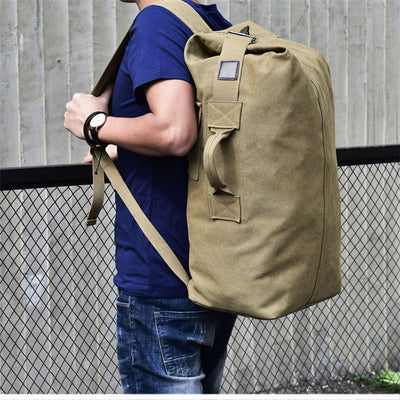 Canvas Military Backpack