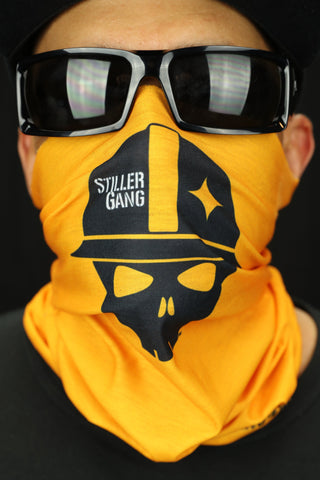 Bang Bang Stiller Gang Gold Tube Bandana