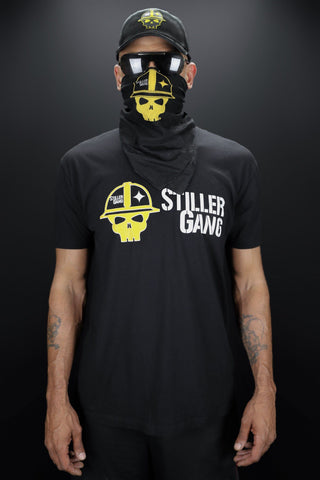 Stiller Gang Black Men's T-Shirt (Flag Design)
