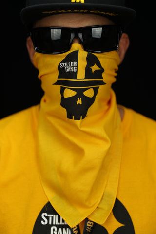 Stiller Gang Gold Cotton Bandana