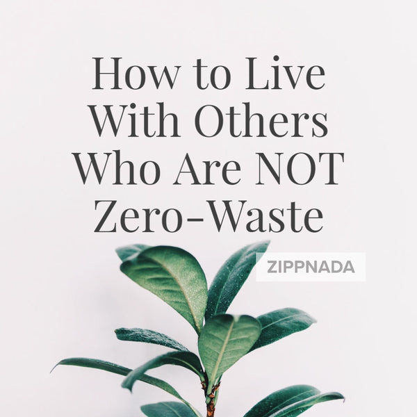 How to Live With Others Who Are NOT Zero-Waste