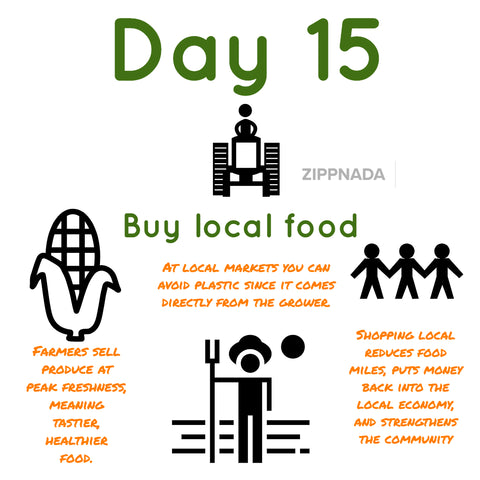 zero waste local food