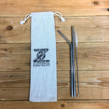 2 Pack Combo Stainless Steel Straws