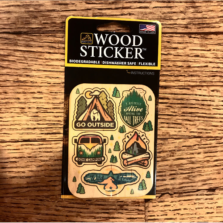 Mini Camping Sticker Pack