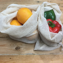 3 pack cotton produce bags