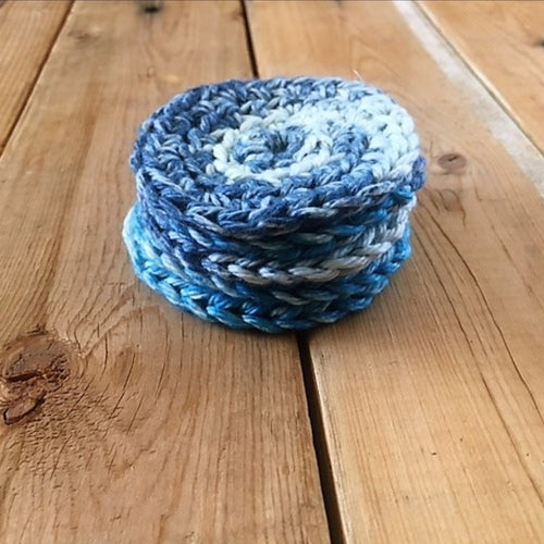5 Pack Reusable Cotton Rounds