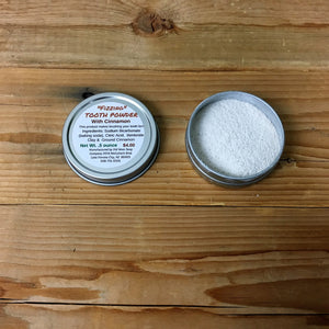 """Fizzing"" Tooth Powder"