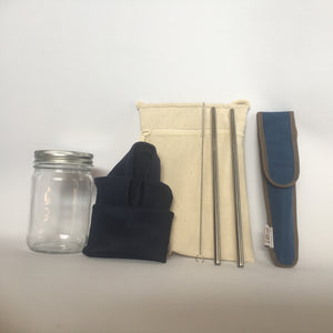 ZippNada Zero-waste Kit out of bag
