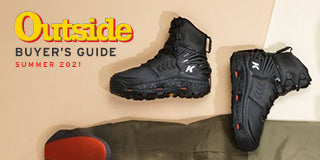 """Korkers River Ops dubbed """"Best Wading Boots $260 and Up"""" from Outside Magazine"""