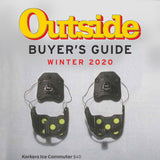 Korkers Ice Commuter Cleats featured in Outside Magazines 2020 Winter Buyer's Guide