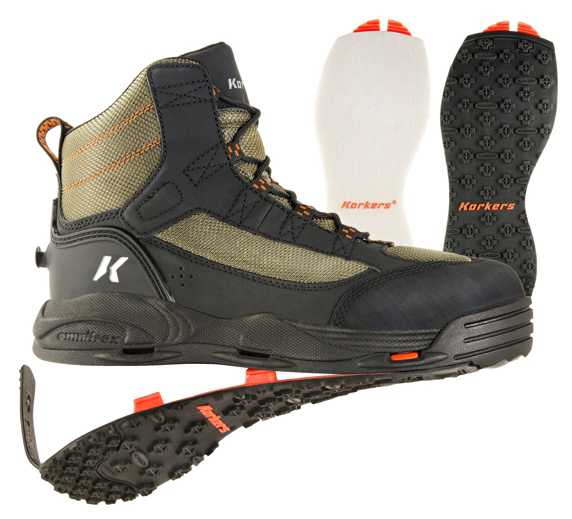 Greenback | Wading Boots | Korkers