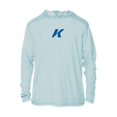 Korkers Lightweight Sun-Protection Hoodie - Arctic Blue