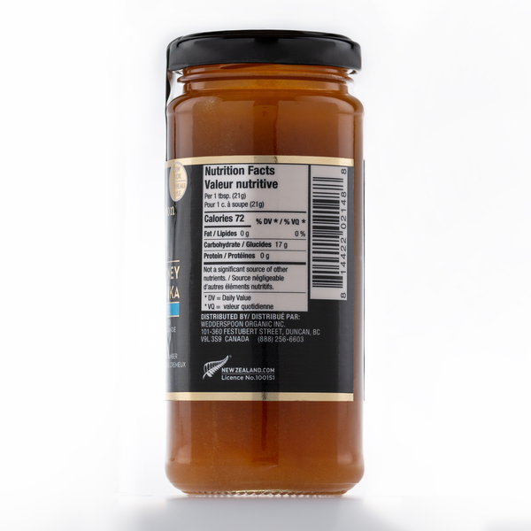 Raw Multifloral Manuka Honey KFactor 12, 325g/11.5oz