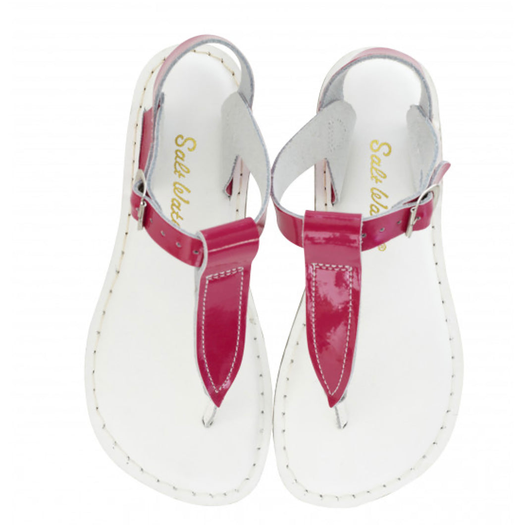 T-Thong Fuchsia-White Upper Sole