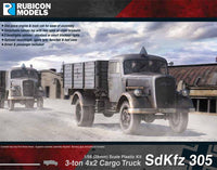 German SdKfz 305 Half Track - Rubicon 1