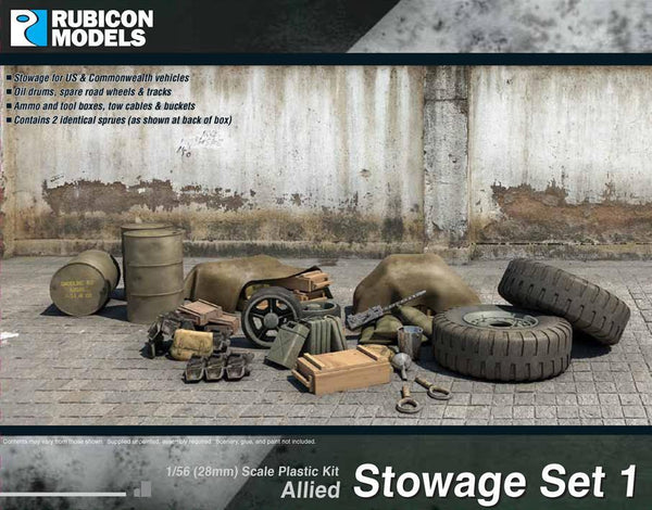 Allied Stowage Set 1 - Rubicon