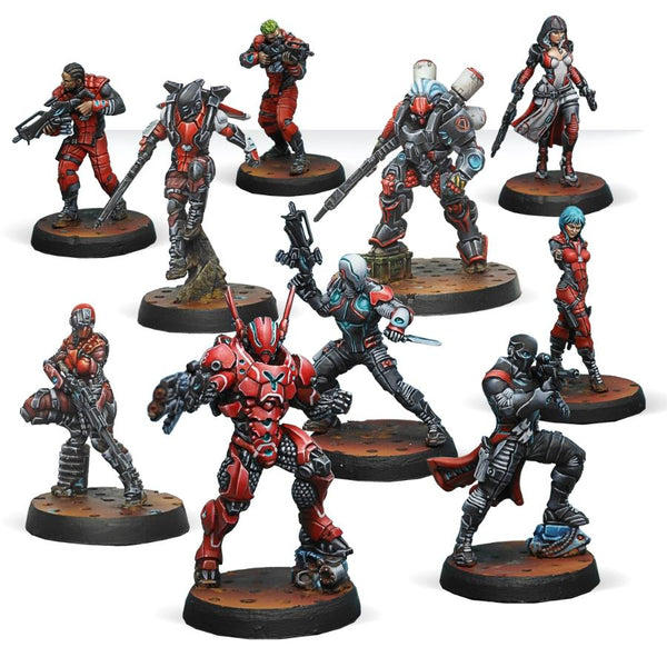 Infinity Nomads Action Pack -