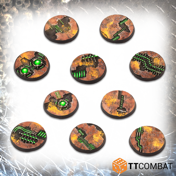 32mm Tomb World Bases - Resin Bases