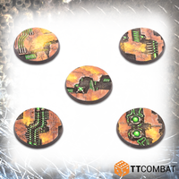 40mm Tomb World Bases - Resin Bases 1