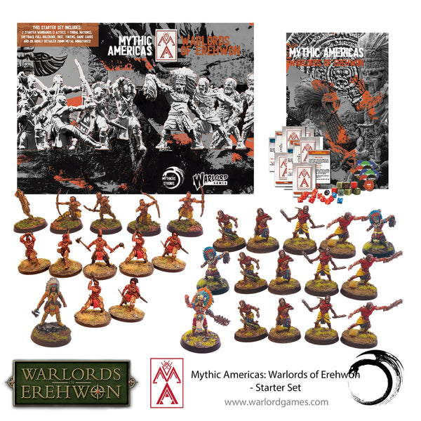 Mythic America Aztec & Nations Starter Set - Warlords Of Erehwon