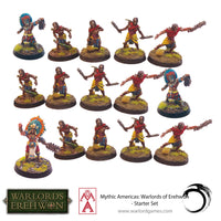 Mythic America Aztec & Nations Starter Set - Warlords Of Erehwon 2