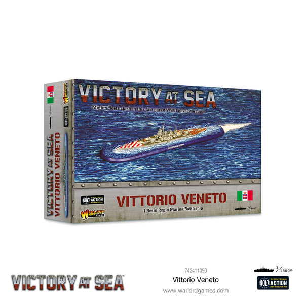 Vittorio Veneto Battleship - Victory At Sea