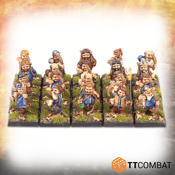 Halfling Archers - Warlords Of Erehwon