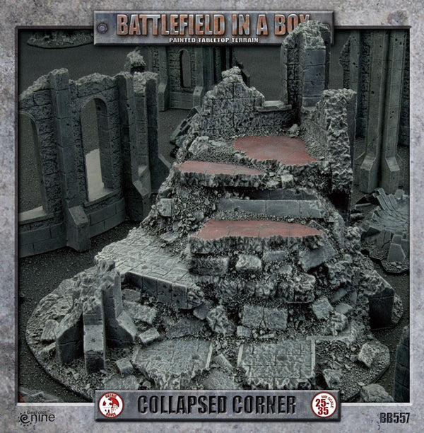 Gothic Battlefields: Collapsed Corner - Battlefield In A Box