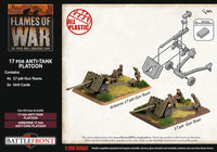 17 pdr Anti-Tank Platoon (British Late War) - Flames Of War Late War 2