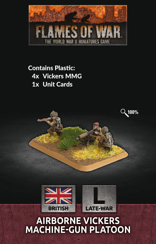 Airborne MMG Platoon (British Late War) - Flames Of War
