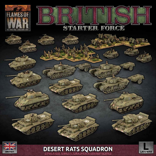 D-Day British Late War Starter Force - Flames Of War