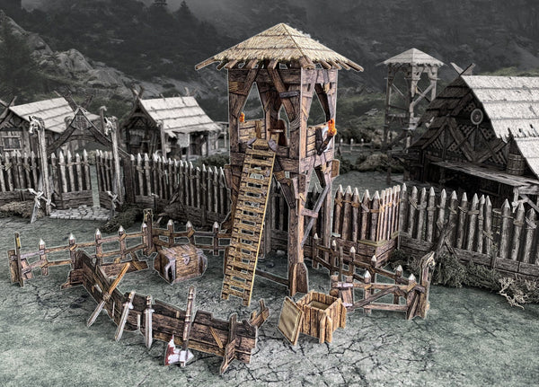 Lookout Tower Fantasy Wargames Terrain