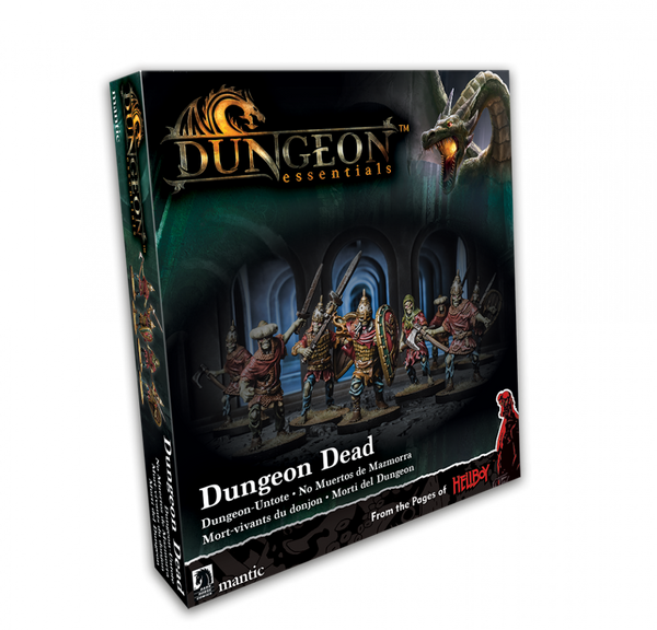 Dungeon Essentials: Dungeon Dead - Dungeon Saga RPG