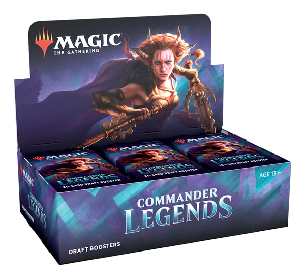 Draft Booster Display Box - Commander Legends