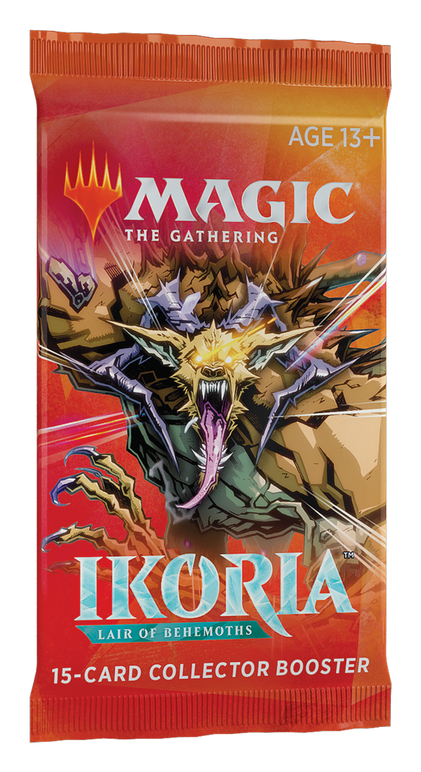 MTG: Ikoria- Lair of Behemoths Collector Booster Pack