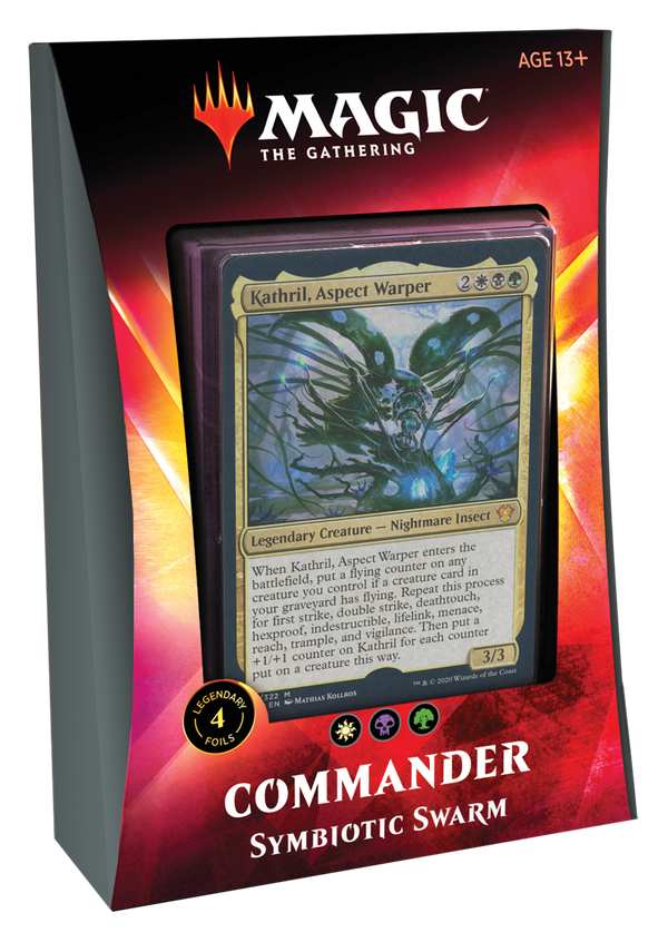 MTG: Ikoria- Lair of Behemoths Commander Deck - Symbiotic Swarm