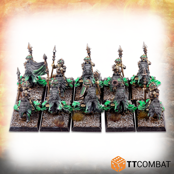 Skeleton Halfling Knights - Warlords Of Erehwon