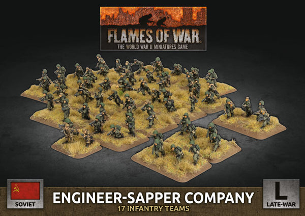 Soviet Engineer-Sapper Company - Late War