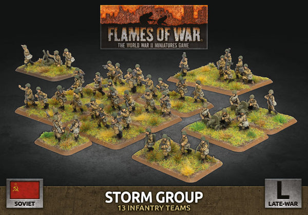Soviet Storm Group - Late War