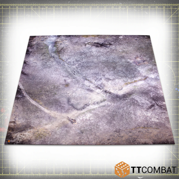 Ash Wasteland 4x4 (Bulky) - Game Mat