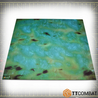 Green Water 4x4 (Bulky) - Game Mat (Bulky) 1