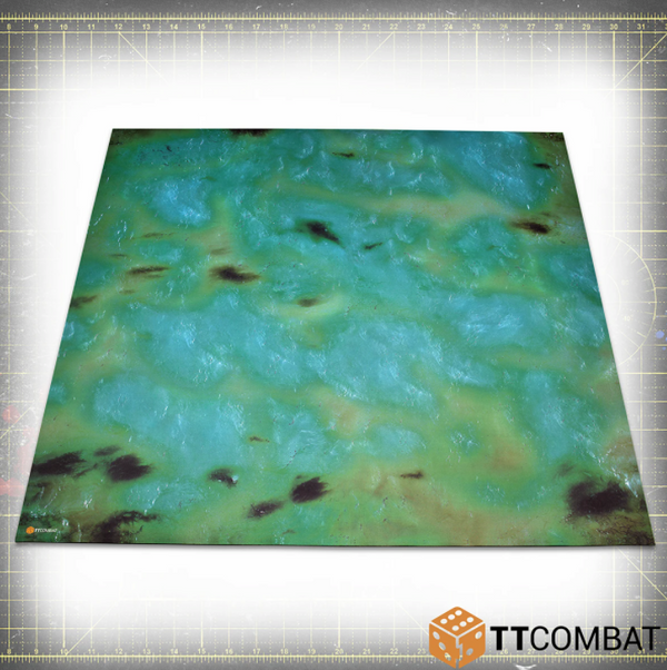 Green Water 4x4 (Bulky) - Game Mat (Bulky)