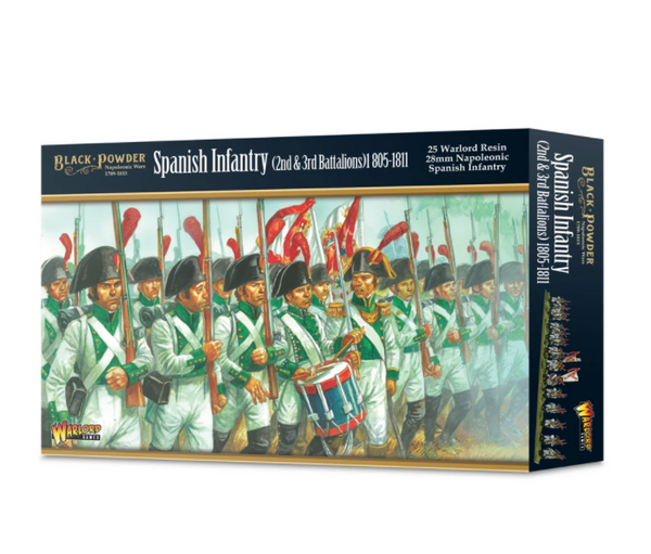 Napoleonic Spanish Infantry (2nd & 3rd Battalions) 1805-1811 - Black Powder