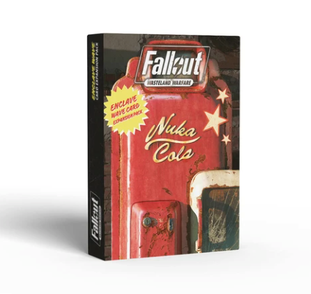 Enclave Wave Card Expansion Pack - Fallout Wasteland Warfare