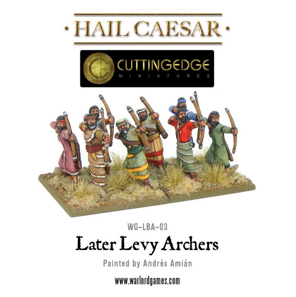 Hittite Levy Archers Blister Pack - Hail Caesar