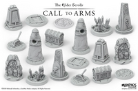Markers and Tokens Upgrade Set - Elder Scrolls Call To Arms 2