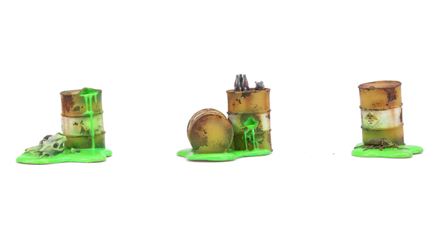 Radioactive Containers Terrain Expansion - Fallout Wasteland Warfare